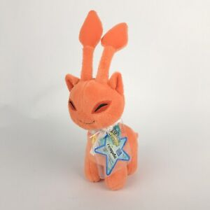 NWT 2008 Series 4 Orange Aisha Neopets Keyquest Plush Stuffed Animal w/Tag