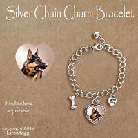 GERMAN SHEPARD DOG Brown Black GOLD FILIGREE EARRINGS Jewelry