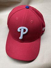 New Era Philadelphia Phillies Team Color 9FIFTY Adjustable Hat Red