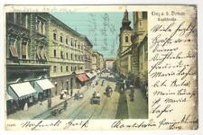 AK Linz, Landstrasse, Gasthof, 1907