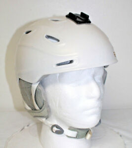 Smith Arrival Ski Snowboard Helmet - Women's Small - White Pearl color