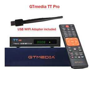 GTmedia TT PRO DVB-T2/Cable Set top box HD Digital TV box + USB wifi adapter