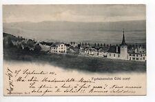 SUISSE SWITZERLAND canton NEUFCHATEL - FONTAINEMELON Coté Ouest