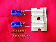 4 pc   -   10uf  16v   electrolytic capacitors FREE SHIPPING