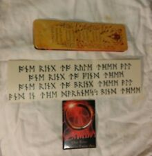 """3 Different-""""One ring to rule them all"""" Rune Sticker -Bookmark plus Magnet"""