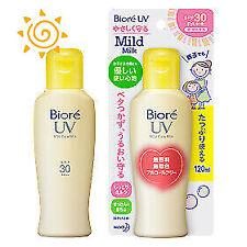 ☀Kao Biore UV Mild Care Milk for Children Sunscreen SPF30/PA++ 120ml F/S