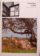 Leipziger Land Zwischen Pleiße und Bildband Brockhaus DDR 1979