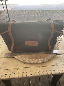 Vintage Dooney & Bourke Black Leather Large Handbag
