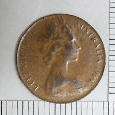 Australia Australian  cent Coin 1966 Error Thin Planchet 1.3g (Dan25/C3)