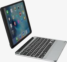 Zagg SlimBook Tablet Keyboard & Detachable Case Durable for iPad Pro 9.7, Black