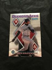 Ken Griffey Jr 1999 Bowman Chrome Diamond Aces #DA11 Seattle Mariners