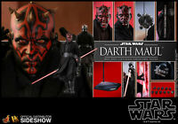 DHL EXPRESS HOT TOYS 1/6 STAR WARS EP I THE PHANTOM MENACE DX16 DARTH MAUL