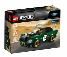LEGO Speed Champions 75884 - 1968 Ford Mustang Fastback - NEU & OVP 💎