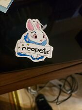 Neopets Blue Cybunny Plush 2002 Tag Only