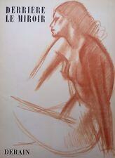 Derriere Le Miroir. Andre Derain No 94-95. 1957