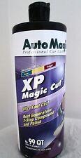SUPER FAST COMPOUND XP MAGIC CUT™ by Auto Magic, for cured & fresh paint. 32 oz