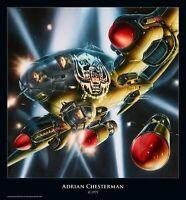 """Rock-Poster """"Motörhead - Bomber"""" von Adrian Chesterman"""