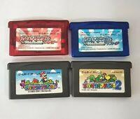 LOT 4 NINTENDO Pokemon Rubby Saphire Super Mario Game Boy Advance GBA Japan