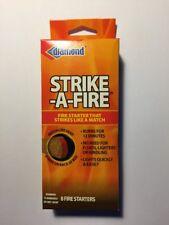 Diamond Strike-A-Fire 8 Firestarters Strikes Like A Match Burns For 12 Minutes