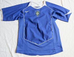 BRAZIL Nike Away Shirt 2004/06 (M)