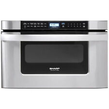 Sharp 1000 Watts 1.2 cu. ft. Stainless Steel Microwave Drawer Oven | KB-6524PS