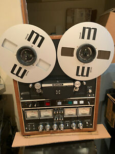 Sony TC-854-4 Quadrophonic Reel to Reel Player SUper Rare!  W/ Hubs and Reels!