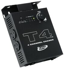 American DJ T4 4 Channel Chase Controller W/ LED Channel Indicators 500W/Channel