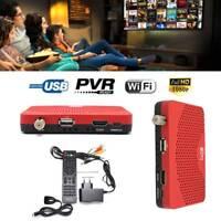 HD 1080P Digital DVB-S2 DVB-S Satellite Receiver TV BOX Wifi Key Decoder ZH