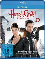 HÄNSEL UND GRETEL: HEXENJÄGER (Jeremy Renner) Blu-ray 3D NEU+OVP