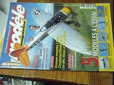 5µ?§ Revue Modele Magazine n°603 Plan encarte TI-GUS / Alto Super Hirundo Hunter