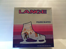 Lange Figure Skates Women's 7 Nip White Never Worn Laces