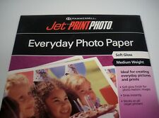 Hammermill Jet Print Photo Everyday Photo Paper Soft Gloss 20 Sheets, 8.5 x 11