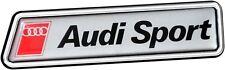 historischer AUDI Sport 3d Aufkleber Schild 10 Cm Emblem Richter Art. 19262