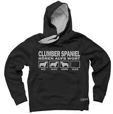Sweatshirt CLUMBER SPANIEL HÖREN AUFS WORT by Siviwonder Hoodie