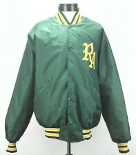 DeLong Mens Vintage Varsity Jacket Green Bay Packers Colors NFL XXL Made in USA