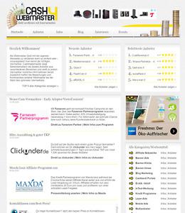"""Webprojekt """"Cash4webmaster """" für Webseitenbetreiber - besteht seit 11 Jahren"""