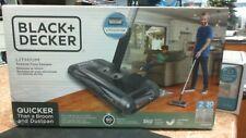 Black+Decker Hfs215J01 60 Minute Lithium Powered Floor Sweeper - Charcoal Grey