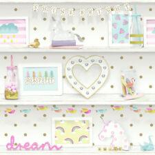 Glitter Unisex Children Modern Wallpaper Rolls & Sheets