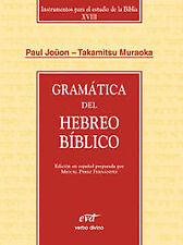 Gramatica hebreo biblico. NUEVO. Nacional URGENTE/Internac. económico. RELIGION