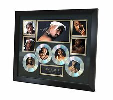 Tupac - 2Pac - Signed Music Memorabilia - Limited Edition of 250 - Framed - New