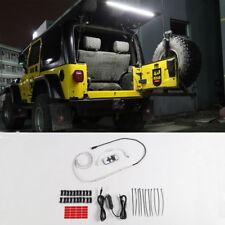 For Jeep Wrangler TJ 1997-2006 LED Tailgate Glass Lift Gate Hatch Dome Light Bar