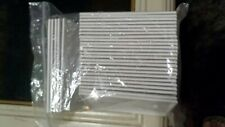 (30 Pack) 1-Gang Blank Wall Switch Plate Single Outlet Cover White