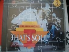 THAT´S SOUL The Very Best Of -  Bar-Kays, Arthur Conley, Aretha Franklin.. DO-CD