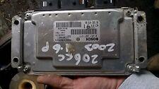 2005 peugeot 1.6 engine ecu