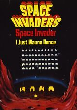 """Reproduction Retro Arcade Game Poster, """"Space Invaders"""", Wall Art"""