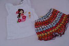 Gymboree Aloha Sunshine Girls Size 18-24 Mermaid Shirt Top Floral Shorts NWT NEW