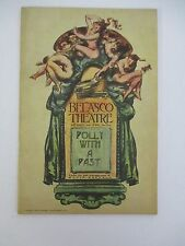 POLLY WITH A PAST 1917 Belasco Theatre Playbill