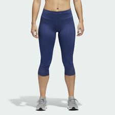 cc4f689451c19 adidas Women's (size Medium) Tights Running How We Do 3/4 Cg1078 Indigo