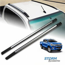 TOYOTA HILUX 2016 ON DOUBLE STX ROOF BARS - ROOF RAILS - PAIR
