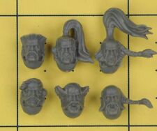 Warhammer 40K Space Marines Space Wolves Wolf Pack Heads (B)